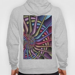 spirals and colors -01- Hoody