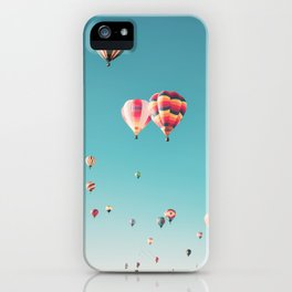 Hot Air Balloon Ride iPhone Case