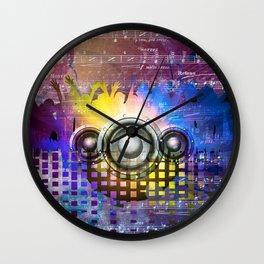 Music DJ Trance Wall Clock