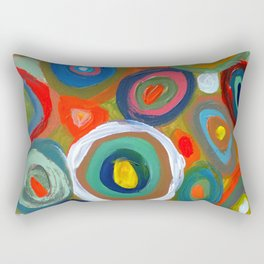 bulles Rectangular Pillow