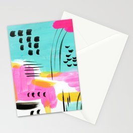 Vibrant Sun and Sea Stationery Cards