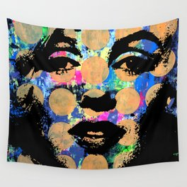 SEX GIRL SUPERSTAR FEMALE WOMAN NOW POP ART PAINTING Wall Tapestry