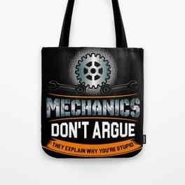 Mechanic Technician Engineering Auto-Mechanic Gift Tote Bag