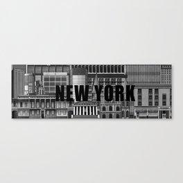 BUILDINGS SERIES 1 Canvas Print
