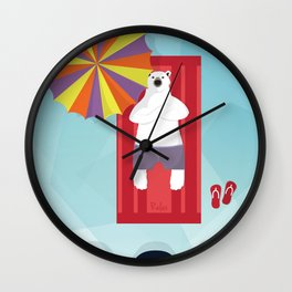 Polar Relax Wall Clock