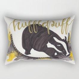 Hufflepuff postcard Rectangular Pillow