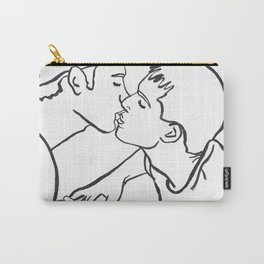 We Can Make it Rain Silver and Gold Carry-All Pouch