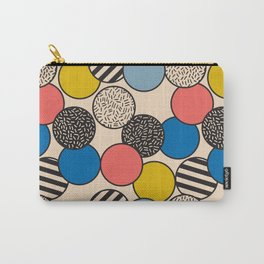 Memphis Inspired Pattern 5 Carry-All Pouch
