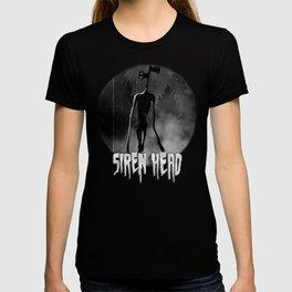 Scary Siren Head vintage meme T-shirt