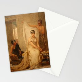 Esther by Edwin Long Stationery Cards