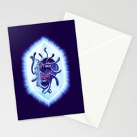 Curse Of The Crystalline Soul Stationery Cards