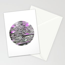 Droplets in Times Square No.3 Stationery Cards