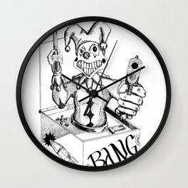 Jack (Gunslinger in a Box) Wall Clock