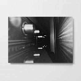 Amps Metal Print