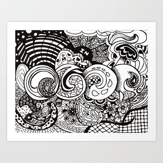 IN Art Print