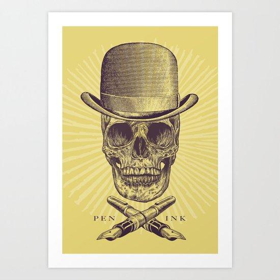 Dead Artist Art Print