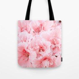 Pink Azalea Flower Dream #2 #floral #decor #art #society6 Tote Bag