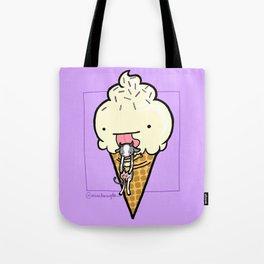Food Series - Ice Cream Tote Bag