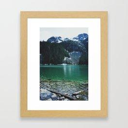 joffre lakes (4) Framed Art Print