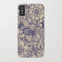 garden iPhone & iPod Cases featuring Circle of Friends by micklyn
