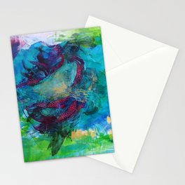 Life is a beautiful mess Stationery Cards