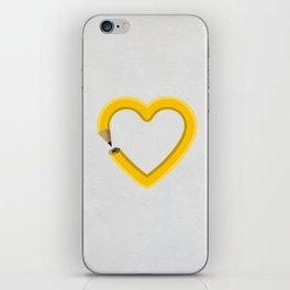 Love to draw iPhone Skin