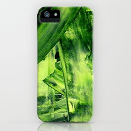 Green Mess iPhone Case