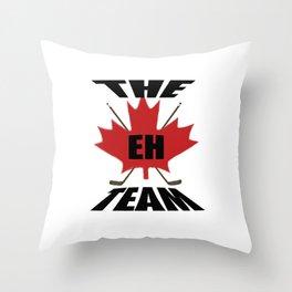 Eh Team Throw Pillow