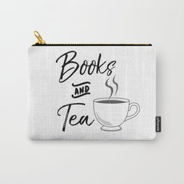 Books & Tea Carry-All Pouch