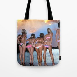 Summers Back Tote Bag