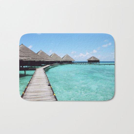 Paradise beach Bath Mat