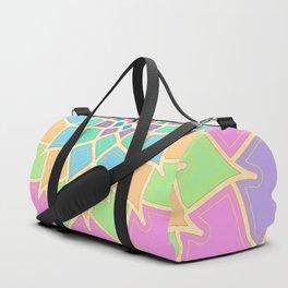 Pastel Lotus Duffle Bag
