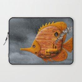 Steampunk Butterflyfish II Laptop Sleeve