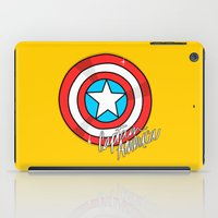 shield iPad Cases featuring Shield by Chelsea Herrick