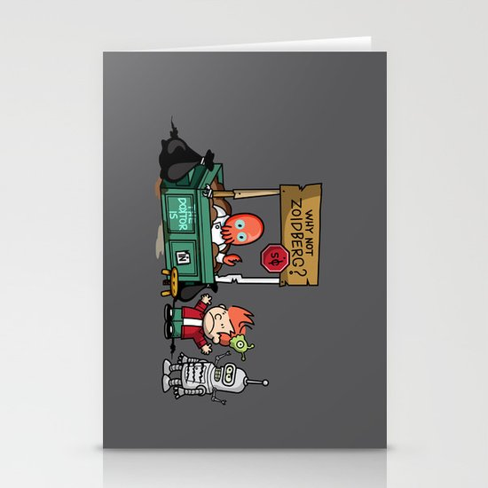 The Doctor is In.... Why not Zoidberg? Stationery Cards