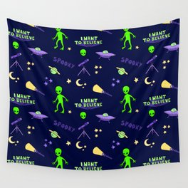 Close Encounters Wall Tapestry