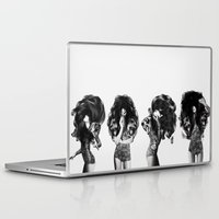 lions Laptop & iPad Skins featuring Lions And Bears Party by Jenny Liz Rome