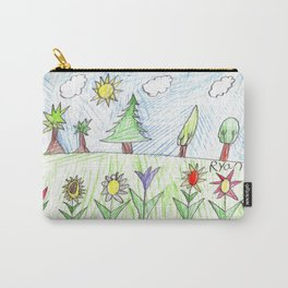 Spring Has Sprung! Carry-All Pouch