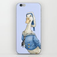 donald duck iPhone & iPod Skins featuring Real Life Donald Duck by onez
