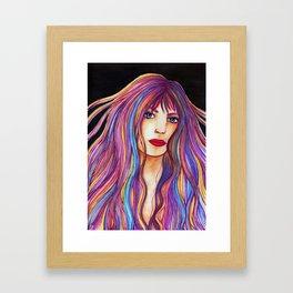 Inara [Artwork watercolor] Framed Art Print