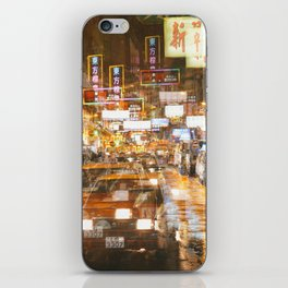 City nights, city lights iPhone Skin
