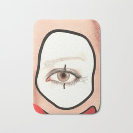 Not all Clowns are Scary Bath Mat