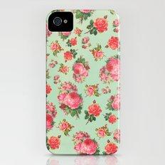 FLORAL PATTERN Slim Case iPhone (4, 4s)