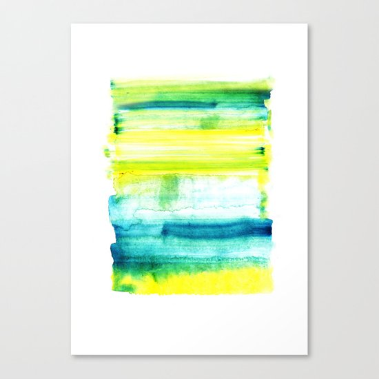 Swimming Upstream Canvas Print