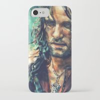 alicexz iPhone & iPod Cases featuring Elessar by Alice X. Zhang