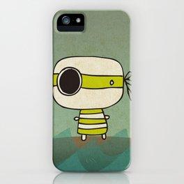 Green Pirate iPhone Case