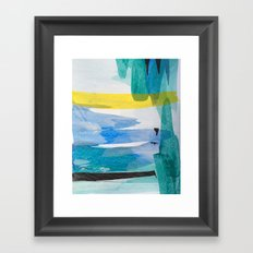 Blue Bayou  Framed Art Print