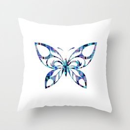 Butterfly 58 Throw Pillow
