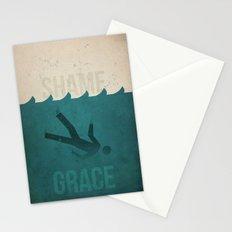 Shame to Grace Stationery Cards
