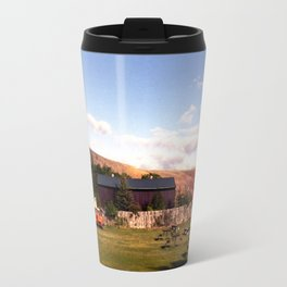 In Dubois, Wyoming Travel Mug